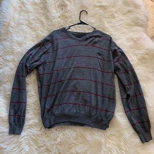 Men's cashmere chaps sweater